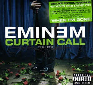 Eminem ‎– Curtain Call - The Hits (CD DELUXE ED)