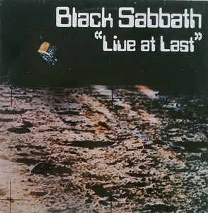 Black Sabbath ‎– Live At Last...