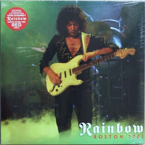 Rainbow ‎– Boston 1981 (2xlp ltd)