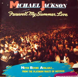 Michael Jackson ‎– Farewell My Summer Love (poster)