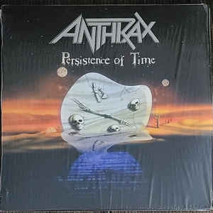Anthrax ‎– Persistence Of Time (4xcolored lp)