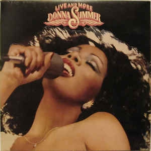 Donna Summer ‎– Live And More (2xlp)