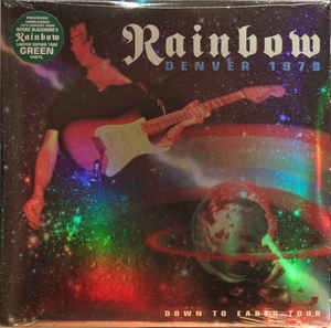 Rainbow ‎– Denver 1979 Down To Earth Tour (2xlp ltd)