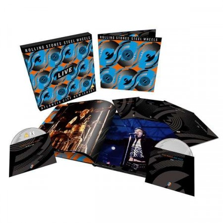 ROLLING STONES - Steel Wheels Live - Collector´s Edition