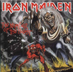 Iron Maiden ‎– The Number Of The Beast (cd)