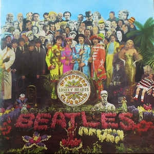 The Beatles ‎– Sgt. Pepper´s Lonely Hearts Club Band