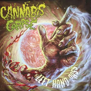 Cannabis Corpse ‎– Left Hand Pass (ltd colored)