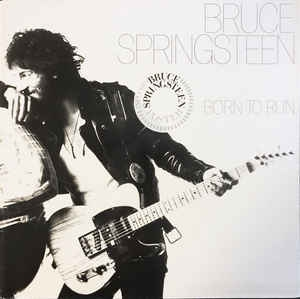Bruce Springsteen ‎– Born To Run (poster)