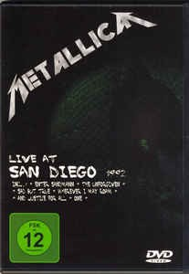 Metallica ‎– Live At San Diego 1992