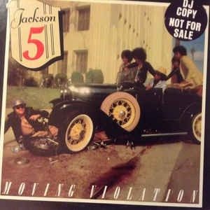The Jackson 5 ‎– Moving Violation