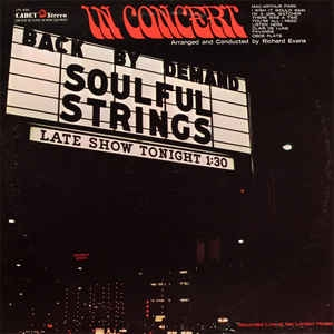 The Soulful Strings ‎– Back By Demand: In Concert