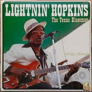 Lightnin´ Hopkins ‎– The Texas Bluesman