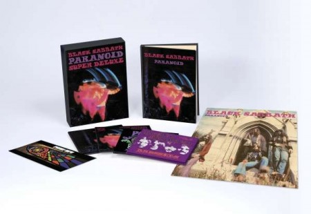 Black Sabbath Paranoid super deluxe cd box set
