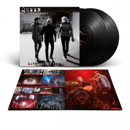 Queen + Adam Lambert - Live Around The World (2xvinyl)