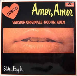 Rod McKuen ‎– Amor, Amor Slide...Easy In