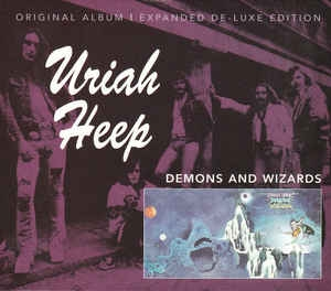 Uriah Heep ‎– Demons And Wizards (cd)