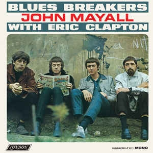 John Mayall With Eric Clapton ‎– Blues Breakers COLORED VINYL LP