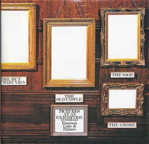 Emerson Lake & Palmer ‎– Pictures At An Exhibition (cd)