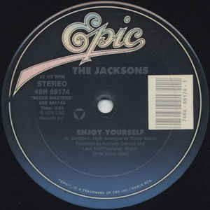 The Jacksons ‎– Enjoy Yourself / Show You The Way To Go