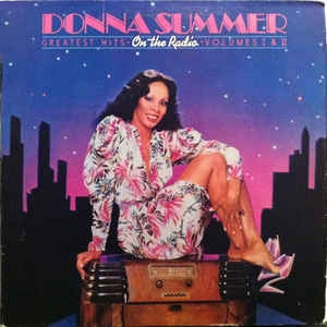 Donna Summer ‎– On The Radio - Greatest Hits Vol.1 & II (poster)