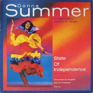 Donna Summer ‎– State Of Independence (Long Version)