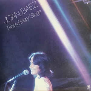 Joan Baez ‎– From Every Stage (2xlp)